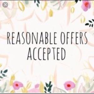 All Reasonable offers accepted! ❤️